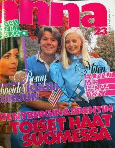 Anna nro. 23 / 1982. Kannen kuva Tarja Tuppurainen.