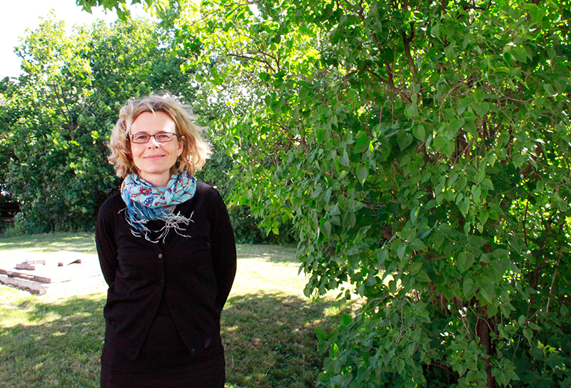 Marika Räsänen. Kuva: Aura Nikkilä.