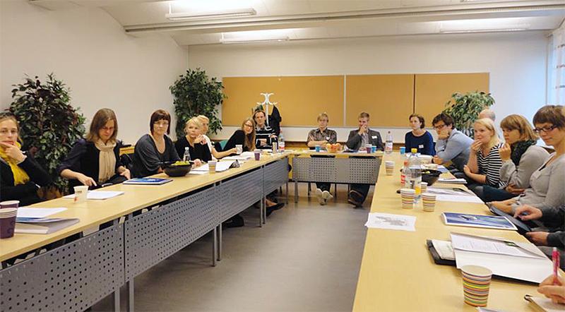 Ensimmäinen Premods-tapaaminen pidettiin Uumajan yliopistossa syyskuussa 2011. Kuva: Linn Holmberg.