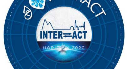 blue interact stamp with text I love Interact