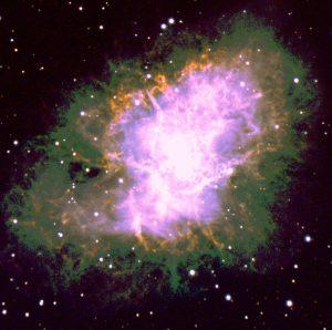 Kuva supernovasta.