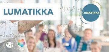LUMATIKKA ja Helsingin yliopiston logo.