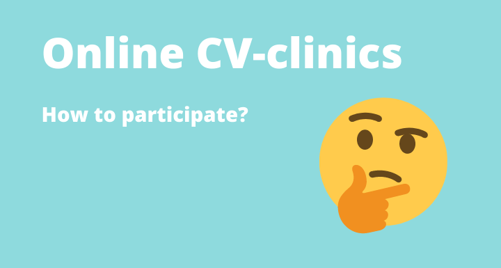 online cv clinics - how to participate