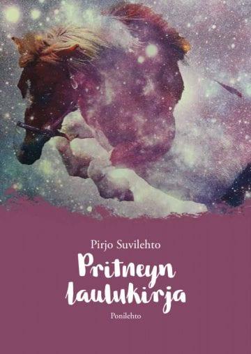 Pritneyn laulukirjan kannaeessa kuva usvassa laukkaavasta hevosesta.